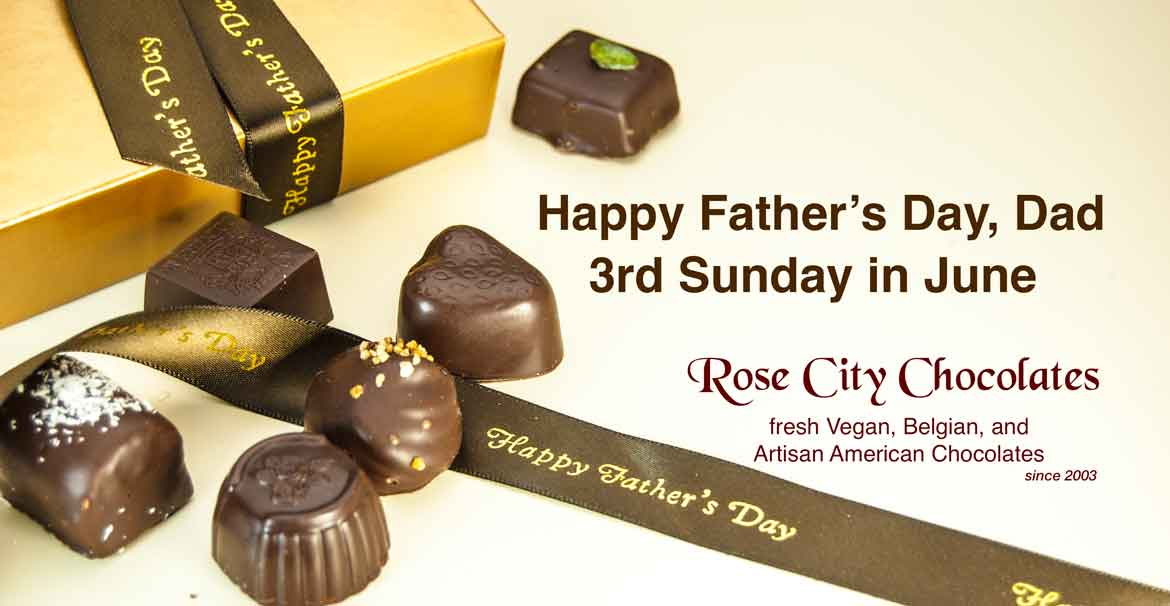 Rose City Chocolates - Vegan Chocolates