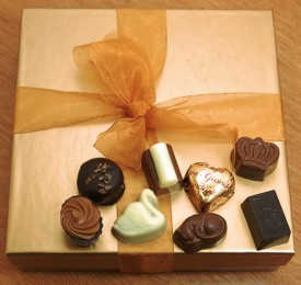 Marina's Belgian Chocolate Hazelnut Collection