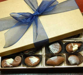 Belgian Chocolate Seashells