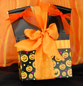 Vegan Fall Trick or Treat Tote