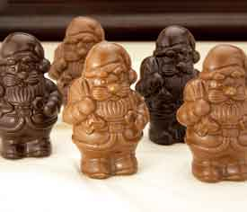 Belgian Milk Chocolate Santa