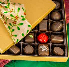Belgian Chocolate Holiday Celebration